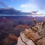 Grand Canyon Storm Sunset Photograph