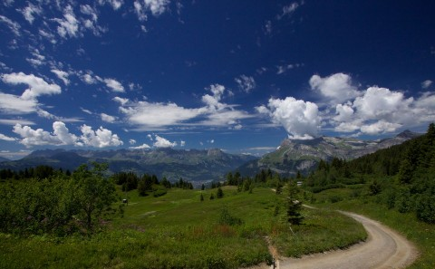 The View to St Gervais