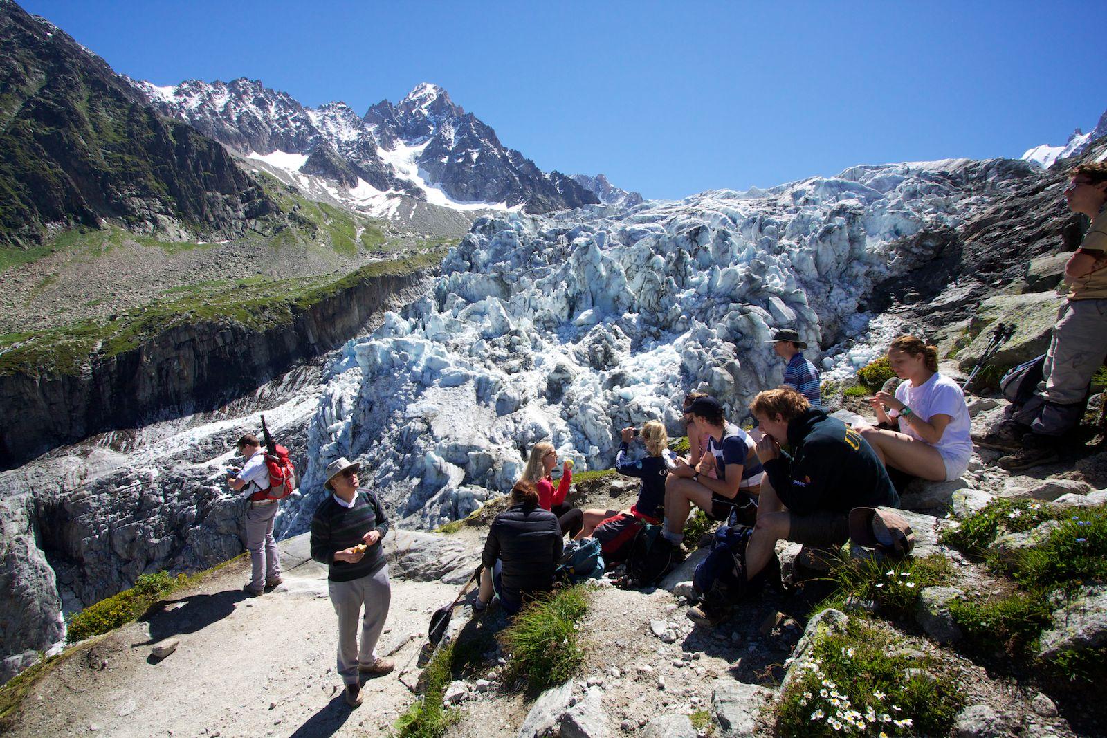 Argentière Glacier Walk