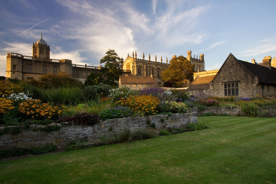 Christ Church Gardens, Oxford