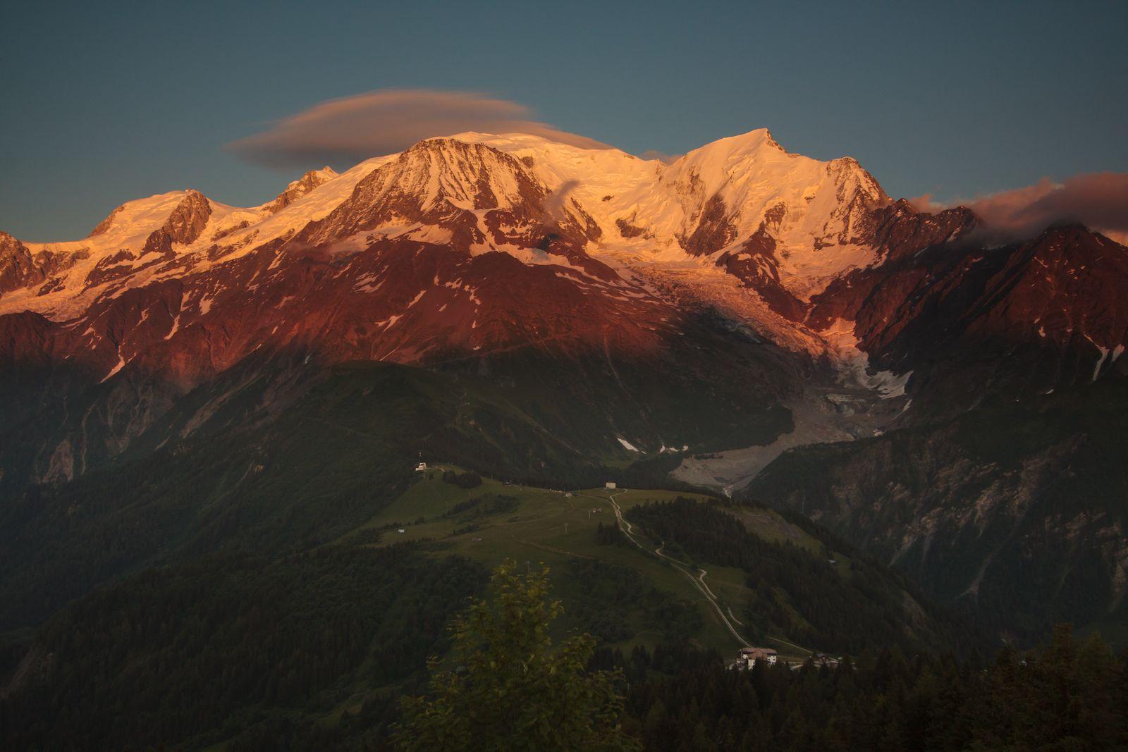 Col de Voza to Mont Blanc