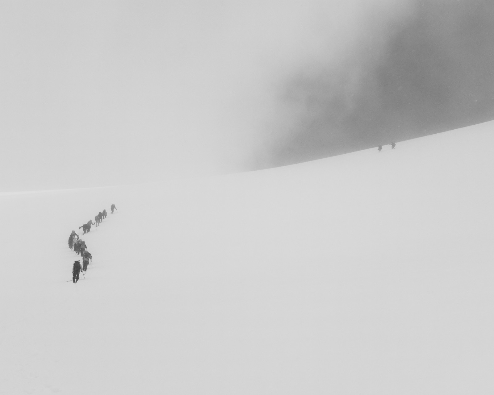 Exit White Out - Signalkuppe Summit